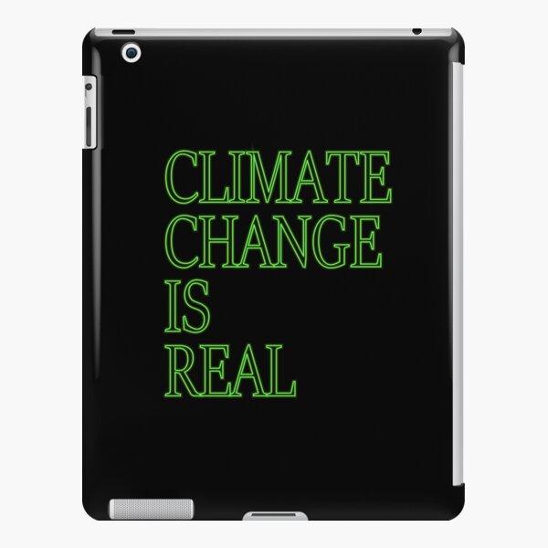 Der Klimawandel ist ein echtes Hemd iPad – Leichte Hülle