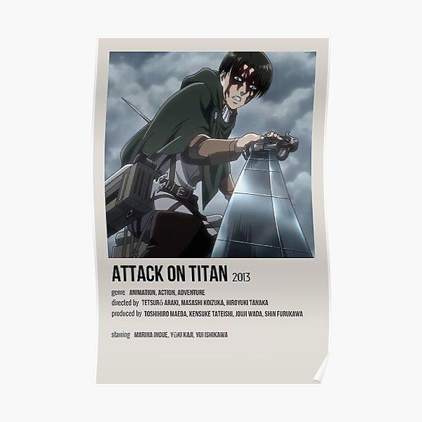 Attaque sur Titan Poster Poster