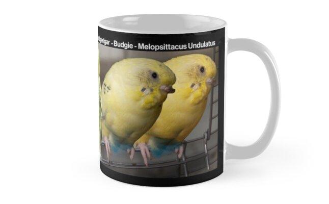 Budgerigar Mug by steeber