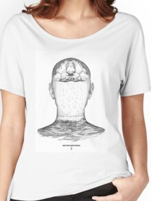 man who never smiled Women's Relaxed Fit T-Shirt
