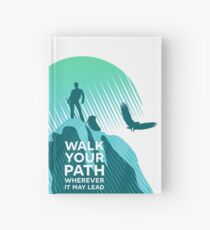Walk Your Path - Teal Hardcover Journal