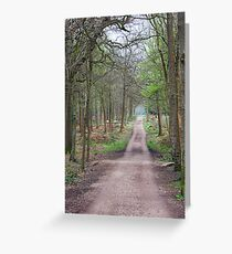 Places in movies Black Park England  Greeting Card