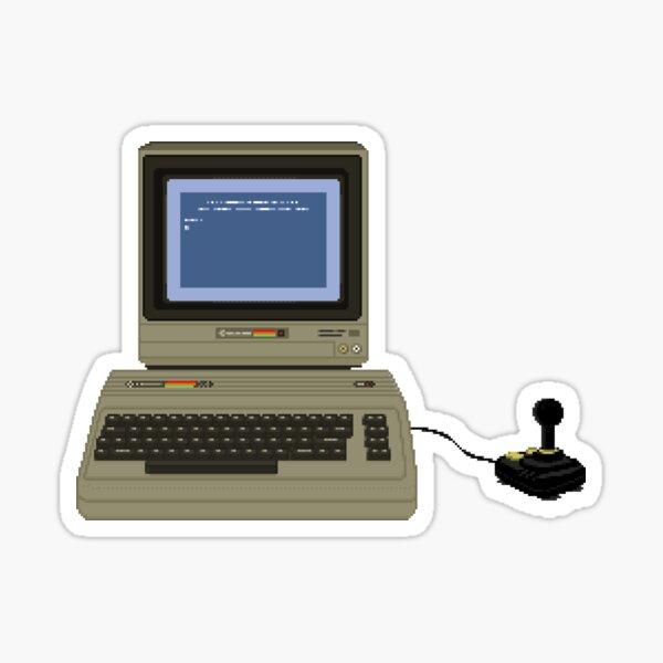 Commodore 64 C64 Breadbin - Retro Gaming - Original Pixel Art Sticker