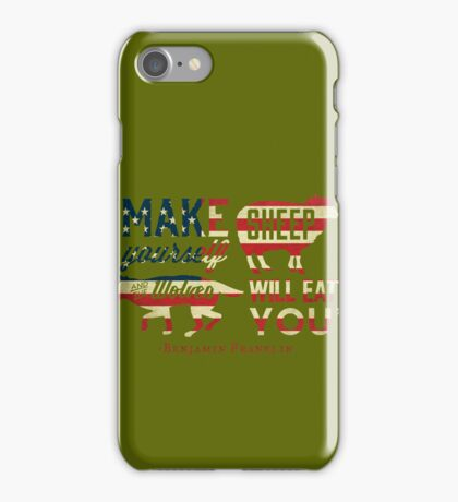 Make Yourself Sheep iPhone Case/Skin