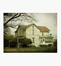 Beautiful old farm house Photographic Print