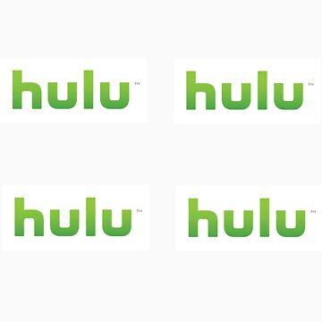 Hulu 4 stickers set by iepster