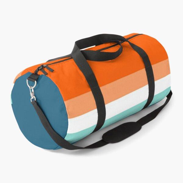 Vintage 1970 color Duffle Bag