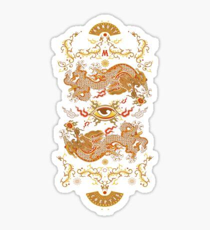 Muzich's Dragons Sticker