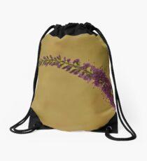 Wild Campanula  Drawstring Bag