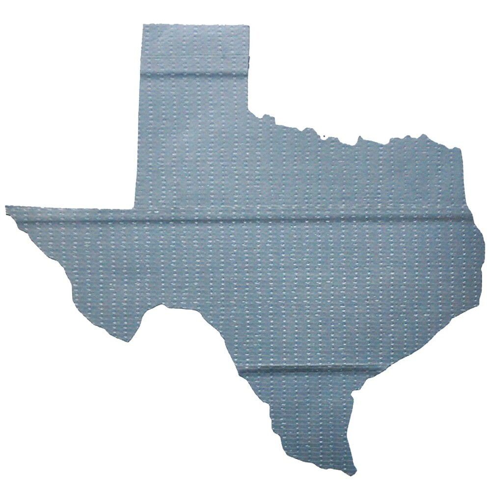 Texas Duct Tape Sticker  by ducttapeus