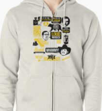 Classy Quotes Zipped Hoodie