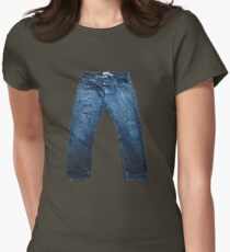 Jeans Womens Fitted T-Shirt