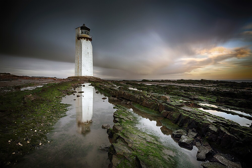 Southerness Lighthouse by Grant Glendinning