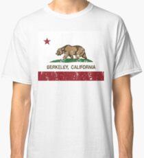 Camiseta clásica Bandera de la República de Berkeley California