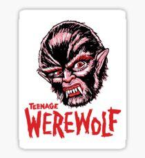 TEENAGE WEREWOLF Sticker