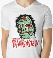 TEENAGE FRANKENSTEIN Men's V-Neck T-Shirt