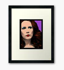 Donna Noble Pop Art Framed Print