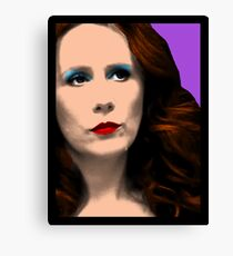 Donna Noble Pop Art Canvas Print