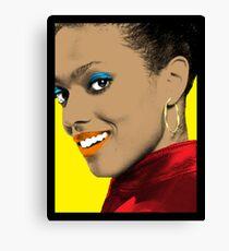 Martha Jones Pop Art Canvas Print