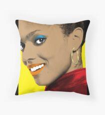 Martha Jones Pop Art Throw Pillow
