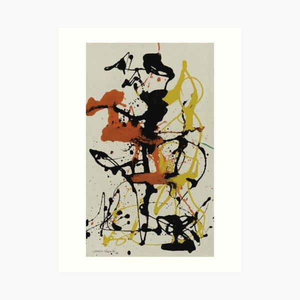 NÚMERO 26 Jackson Pollock Lámina artística
