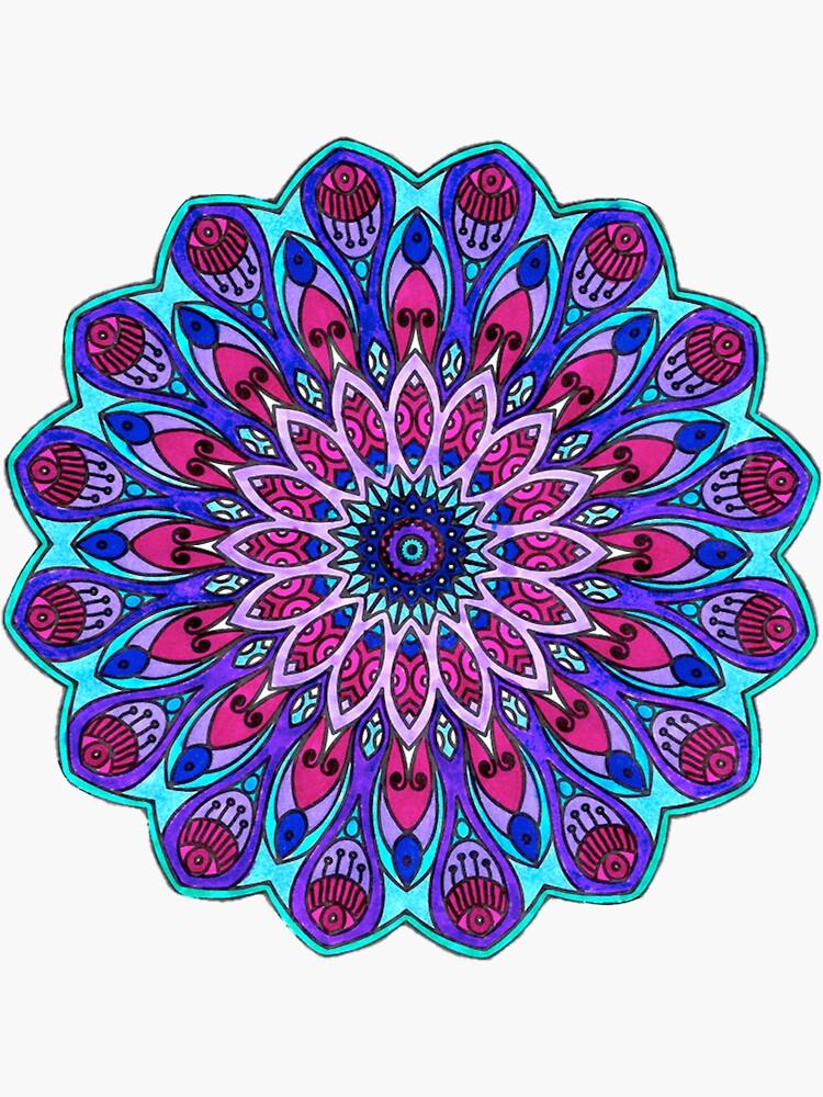 Mandala Cool Toned de kjiang11