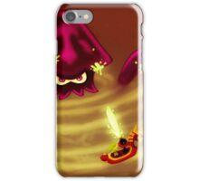 Kraken in the Great Sea (alt. version) iPhone Case/Skin