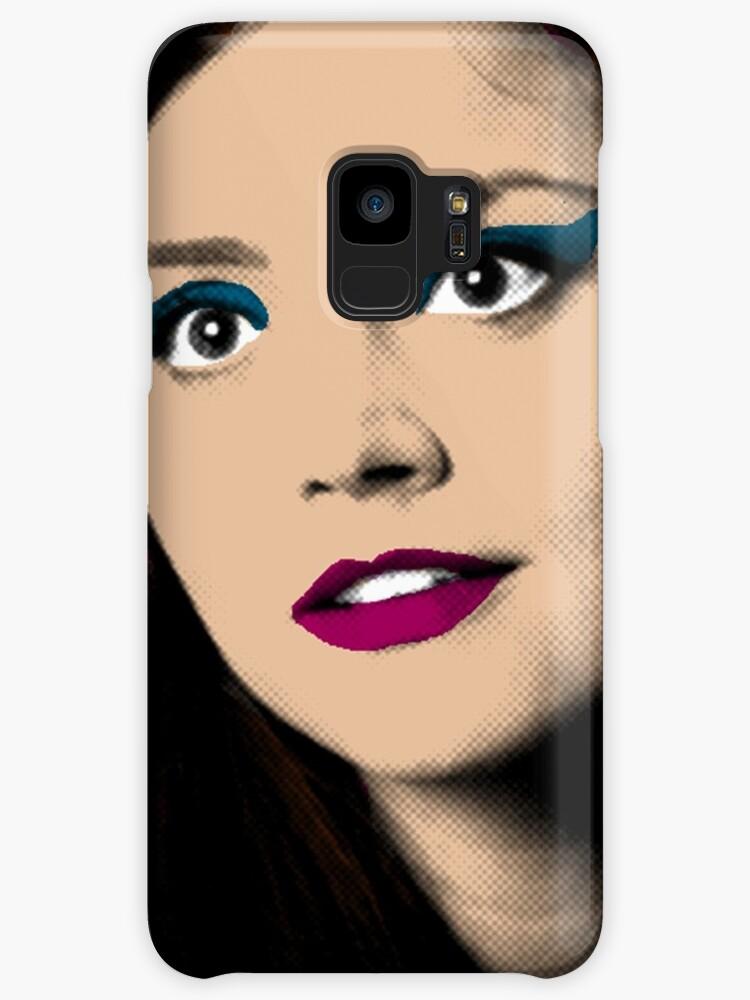 Clara Oswald Pop Art Cases Skins For Samsung Galaxy By Rachwho