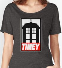 TIMEY Women's Relaxed Fit T-Shirt
