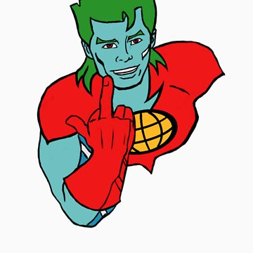 Captain Planet 'Save the Earth' by MOKJavan