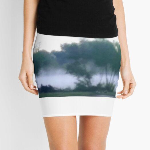 Misty on the water Mini Skirt