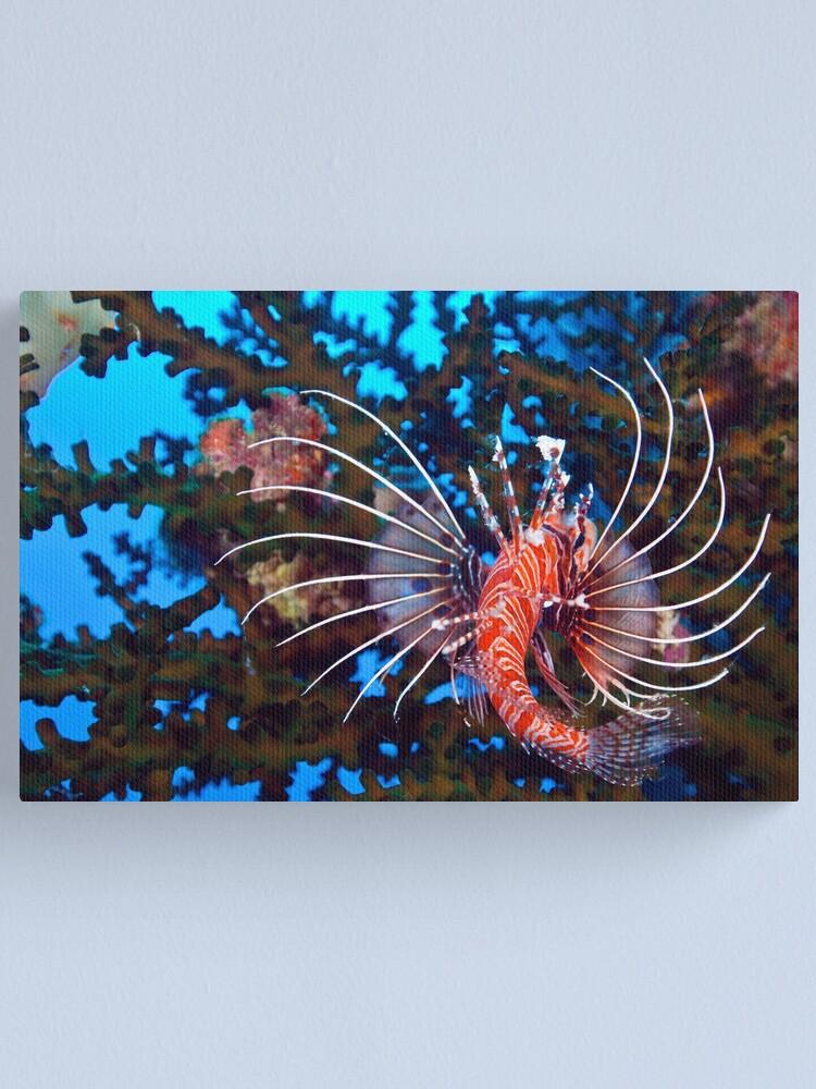 Alternate view of Flamenco Canvas Print
