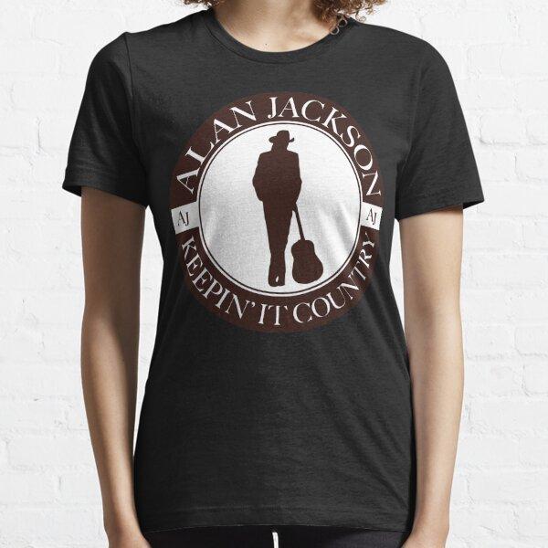 Hommes Alan Jackson Tour 2018 Cool Cool Jogging T-shirt essentiel