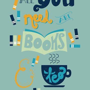 Books & Tea by isabellesilva