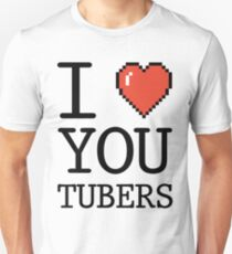 I LOVE OYUTUBERS Unisex T-Shirt