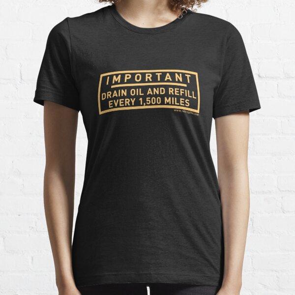 Minimum Oil Level Essential T-Shirt