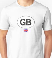 GB, Great Britain auto Unisex T-Shirt