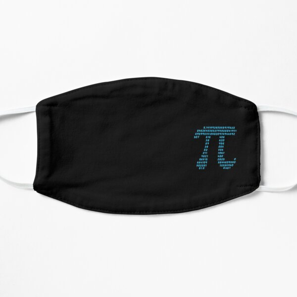 Pi π Science Mathematics Math Irrational Number Sequence Mask