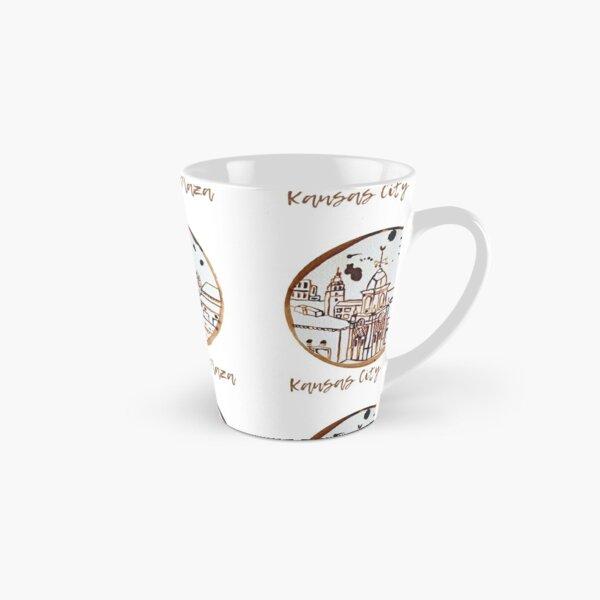 Kansas City Plaza CoffeeART Logo Tall Mug