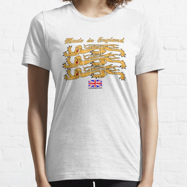 Made In England, with Regal Lions Essential T-Shirt