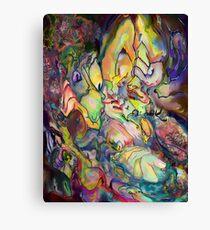 Finger Knit Canvas Print