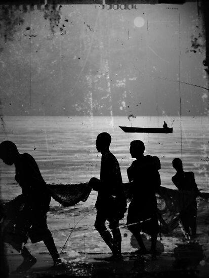 Fishermen by heinrich