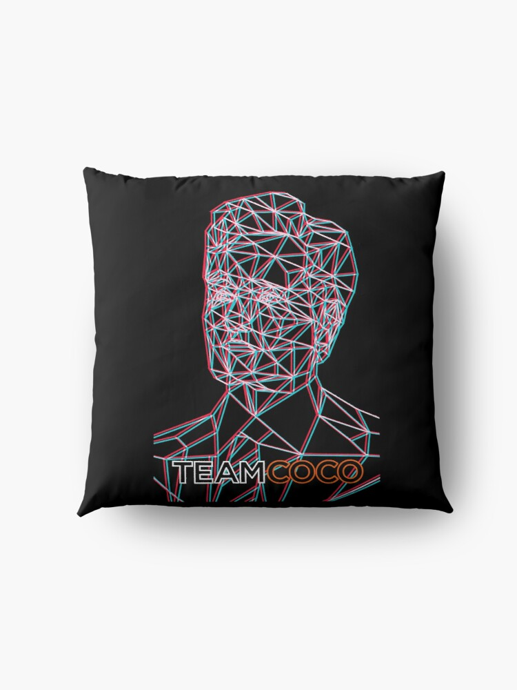 Alternate view of Team COCO (Anaglyph) Floor Pillow