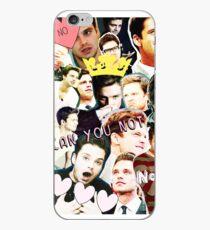 sebastian stan collage iPhone Case
