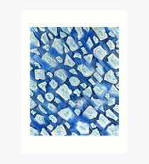 Sea Ice Art Print