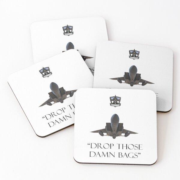 Drop Those Damn Bags Coasters (Set of 4)