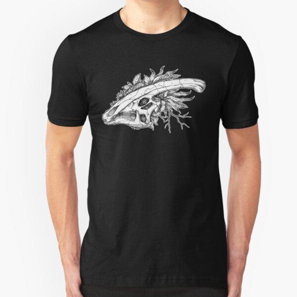 Parasaurolophus Skull 1.1 Slim Fit T-Shirt