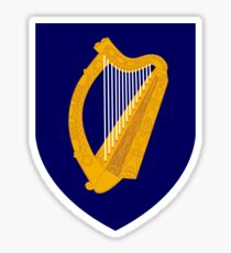 Coat of Arms of Ireland  Sticker