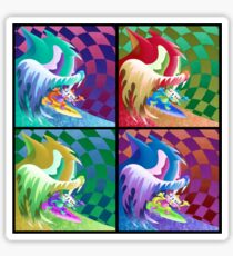 Andy Warhol MGMT Sticker
