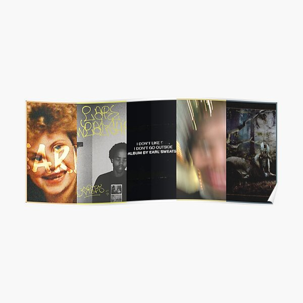Earl Sweatshirt Discography Poster
